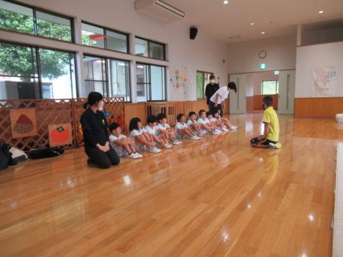 体育教室・・・